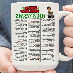 Trailer Park Boys Rickyisms Mug White Ceramic Coffee Tea 11o