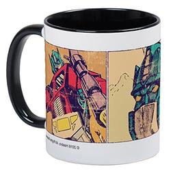 CafePress - Transformers Optimus Prime Retro Mug - Unique Co