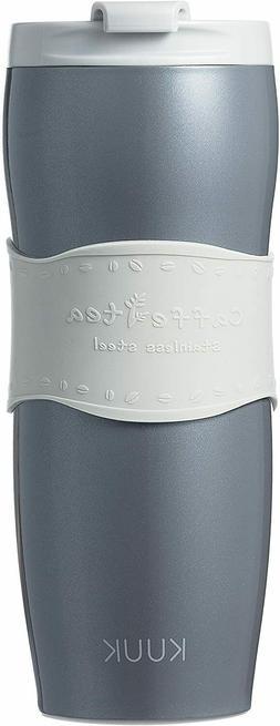 KUUK Travel Cup thermos Mug for Coffee & Tea - Stainless Ste