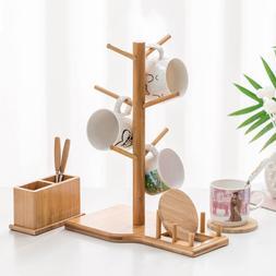 Tree Shape Cup Holder Rack Coffee Tea Cup Storage Holder BOX