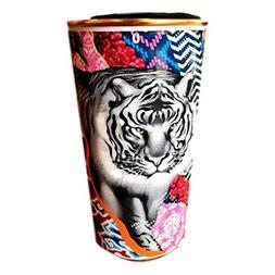 Starbucks Tristan Eaton Ceramic Double Wall Travel Mug Tiger