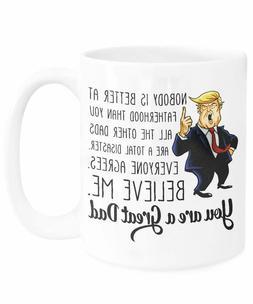 Trump Dad Funny Father's Day Mug