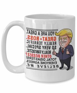 Trump mug boss mug boss gift men boss gifts funny - Trump Bo