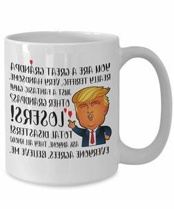 Trump mug grandpa gifts - donald trump mug - funny trump mug