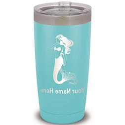 20oz Tumbler Mug, Mermaid, Personalized Engraving Included