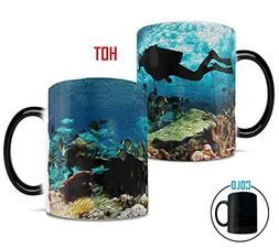 Morphing Mugs Under Water Ocean Coral Reef Scuba Diver Heat