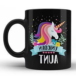 Best Unicorn Number 1 Aunt Mug - Aunt Ever Gifts for Her Bir