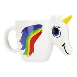 Unicorn Ceramic Color Changing, Zocokey 3D Horse Heat Sensit