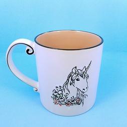Unicorn Coffee Mug Beverage Cup Ceramic 21oz 596ml Spectrum
