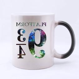 Unique Design Harry Potter Platform 9 3/4 Morphing Coffee Mu