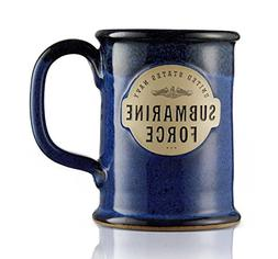 United States Navy Submarine Force Stoneware Mug - Proudly M