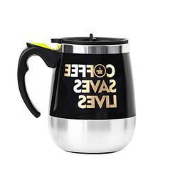 Update Self Stirring Mug Auto Self Mixing Stainless Steel Cu