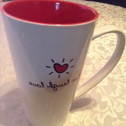 Valentines Day 10 Strawberry Street mug latte cup ceramic  L