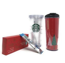 Starbucks Venti Insulated Travel Tumbler, 2 hot & cold holid