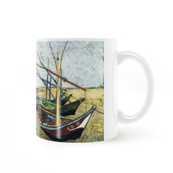 Vincent van Gogh Fishing boat on the Les Saintes <font><b>Ma