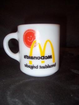 Fire King Vintage McDonald's Breakfast Brigade Mug C-Handle