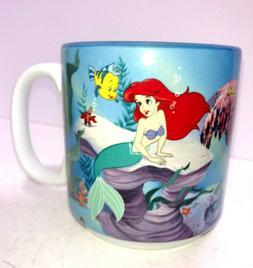 Vintage Walt Disney THE LITTLE MERMAID Coffee Mug Tea Cup Ar