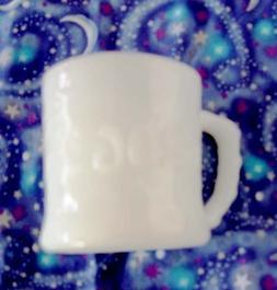 Vintage White Milk Glass Grog the Caveman Animated Comic Fig