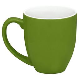 Corelle Vive 13-oz Stoneware Mug, Green Set of 4
