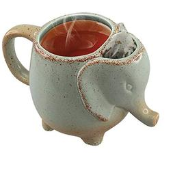 Volar Ideas 15oz Elephant Tea Mug Green