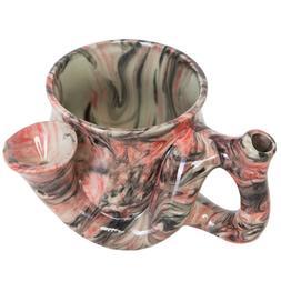 Wake and Bake coffee mug Smoking Pipe mug all in one. Funny