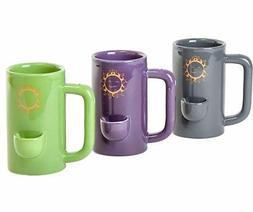Wake and bake Mug Novelty Coffee Ceramic Tea Cup with Pipe F