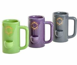 Wake and bake Mug Novelty Coffee cup with Pipe Filters - The