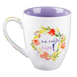 "Watercolor Collection Mug: ""Give Me Jesus"""