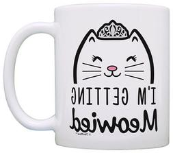 Wedding Gifts for Bride I'm Getting Meowied Funny Cat Weddin