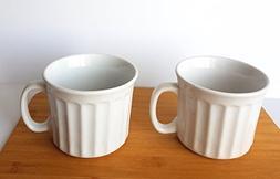 White Jumbo Ceramic 20 oz. Mugs