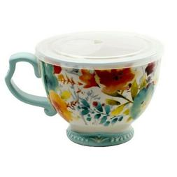 The Pioneer Woman Willow Jumbo Cup Vented Lid 27oz Soup Bowl