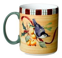 Lenox Winter Greetings Everyday Stoneware Nuthatch Mug