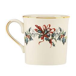 Lenox Winter Greetings Mug, Ivory Set of 4