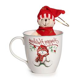 Pfaltzgraff® Winterberry Happy Holidays Mug With Stuffed