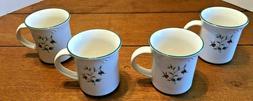 Pfaltzgraff Winterberry Mugs Set of 4