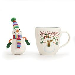 Pfaltzgraff® Winterberry Snowman Mug with Matching Ornam
