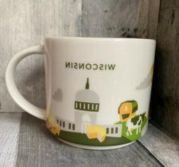 Starbucks Wisconsin 2015 You Are Here Collection  14oz Mug F