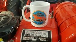 Wisconsin Engine Coffee Mug - Brand New - Dishwasher Safe!