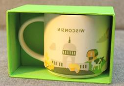 Starbucks Wisconsin Mug You Are Here Collection