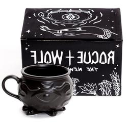 Witch Cauldron Coffee Mug in Gift Box Porcelain 3D Novelty M