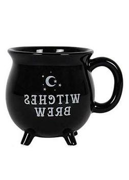 Witches Brew Cauldron Mug - Black Collectible Mug Magic Wicc