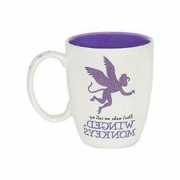 Wizard of Oz Flying Monkeys Glitter Mug