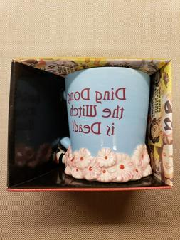 WIZARD OF OZ Sculpted Mug Ding Dong The Witch Is Dead NEW IN