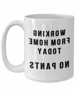 Work At Home Mug - Gift For Boss - Funny Coworker Mug - Gift