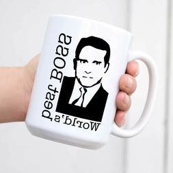 World's Best Boss The Office Michael Scott Funny Coffee Mug