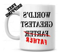 World's Greatest Farter Father Coffee Mug Father's Day Gift