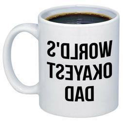 World's Okayest DAD Ceramic Coffee Mugs M323