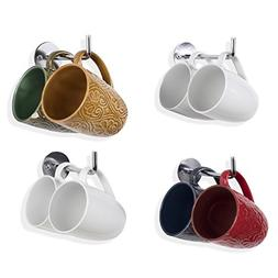 Wallniture Metal Mug Cup Holder Rack - Kitchen Counter top O
