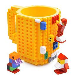 - KYONNE Build-on Brick Mug, Birthday Gift Cup, Best Gift I