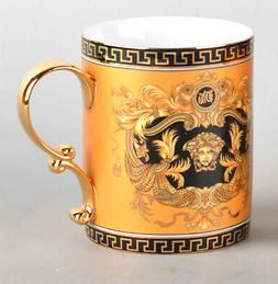 Euro Porcelain Medusa Fine Bone China Coffee Tea Mug / Cup -